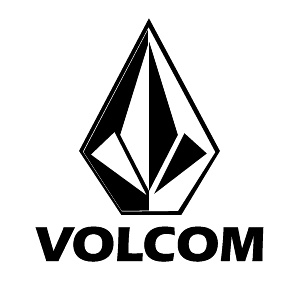 I like How the font for VOLCOM is so straight and proper looking!