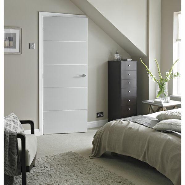 Puertas blancas de interior 2 reforma casa pinterest - Puertas blancas ...