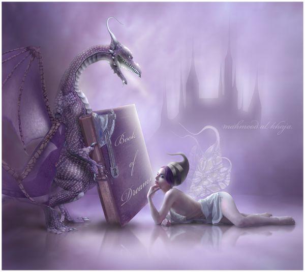 M y t h i c a l : A love of dragons  Book of Dreams by =manips-of-artist2