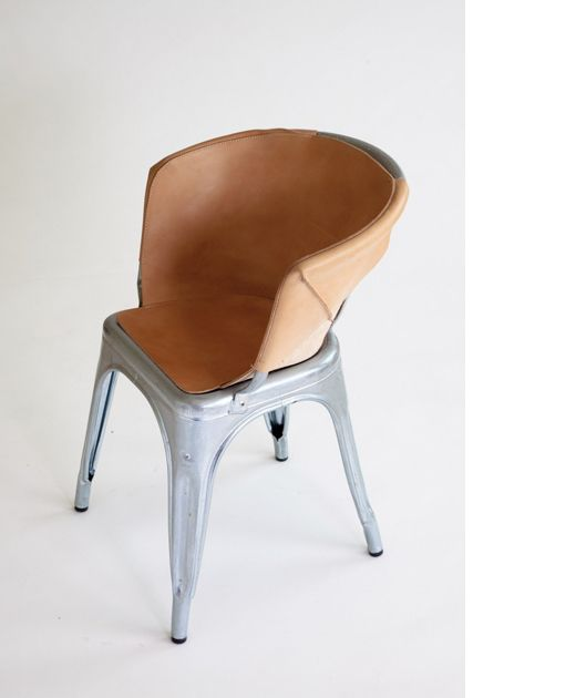 Leather Cover For Tolix Chair