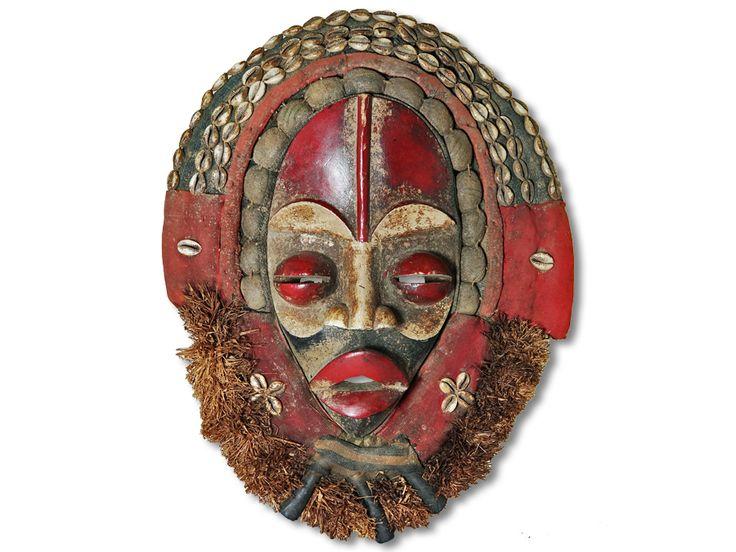 Maske der Dan Liberia/Afrika 46cm kaufen
