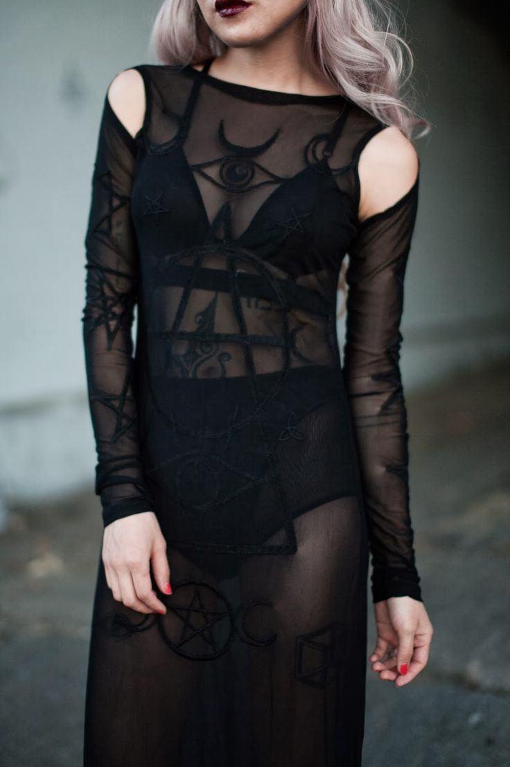 Black dress dead sea life