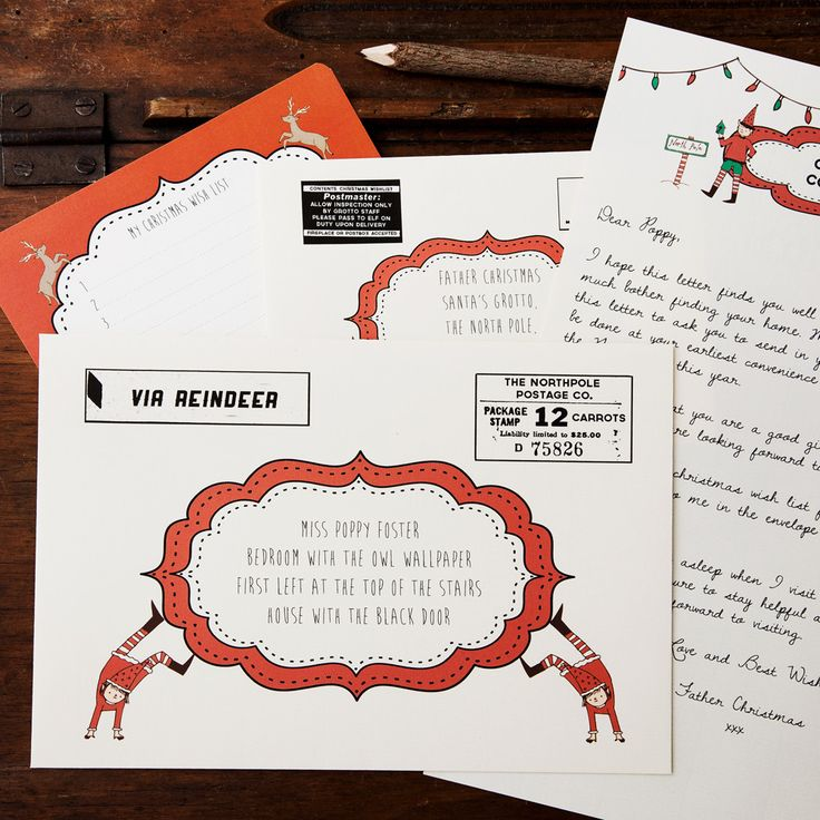 What could be more memorable than receiving a magical letter from Santa Claus? An incredible, unforgettable letter, with things in it that only Father Christmas could know, addressed and delivered straight to your bedroom door. Watch your child's face light up in amazement when they receive the personalised Santa letter set this Christmas.  Printed on high-quality heavyweight paper with realistic postal markings and beautiful illustrations, the personalised Santa letter set contains the…