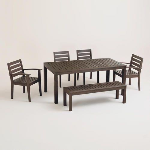 laguna outdoor furniture collection world market furniture over which i 39 m lusting pinterest. Black Bedroom Furniture Sets. Home Design Ideas