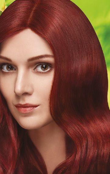 Nevacolor 2017 Saç Renk Kartelası - Nevacolor büyüleyici kızıl saç rengi