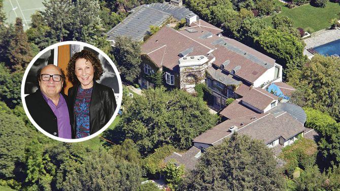 Danny DeVito and Rhea Perlman Mansion