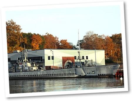USS Silversides WWII Submarine Museum, Muskegon, MI.