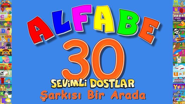 ABC Alfabe 30 Şarkı bir arada - Çocuk Şarkıları http://www.canimanne.com/abc-alfabe-30-sarki-bir-arada-cocuk-sarkilari.html ABC Alfabe 30 Şarkı bir arada Sevimli Dostlar Eğitici Çizgi Film Çocuk Şarkıları Videoları