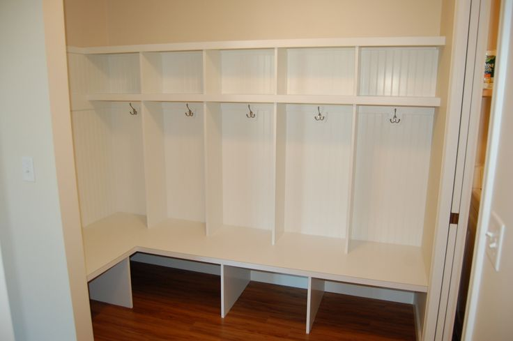 Team Photo Gallery - Drop Zone areas and Laundry Rooms