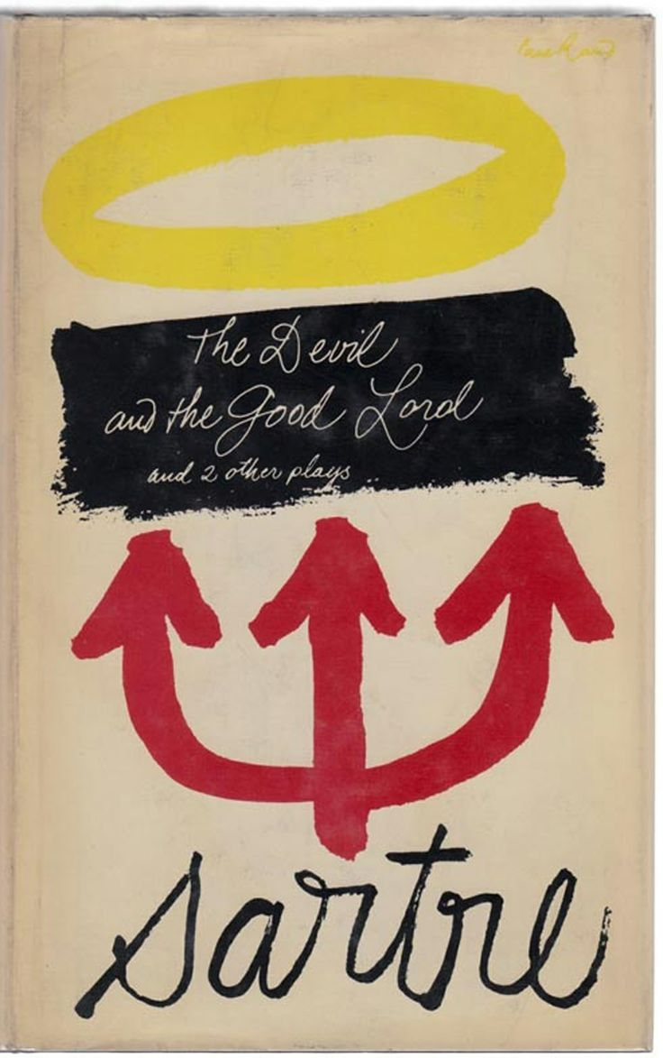 Paul Rand, Sartre - The Devil And The Good Lord