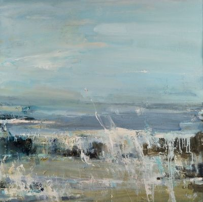 Hannah Woodman,' Summer Waves on Gwithian Beach',2011,Oil on Board,£4,450                                                                                                                                                     More