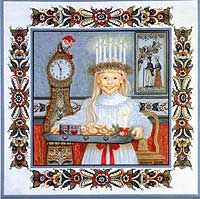 Santa Lucia - I have this trivet