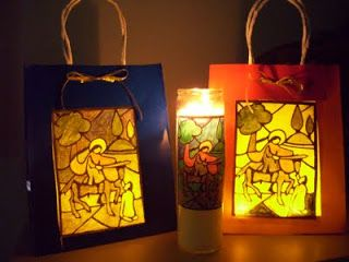 Martinmas lanterns nov 9 feast day of St. Martin of Tours