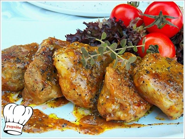 ΨΑΡΟΝΕΦΡΙ ΣΤΟ ΤΗΓΑΝΙ ΜΕ ΠΕΤΙΜΕΖΙ!!! | Νόστιμες Συνταγές της Γωγώς