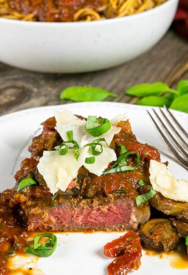Steak Pizzaiola Recipe