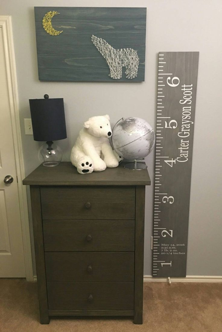 Wooden Growth Chart Customized Growth Height Chart For