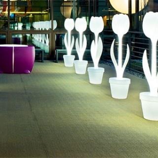 lampada da terra Tulip, poleasy, XL, design