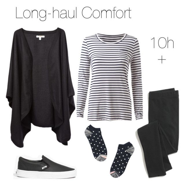 """Travel outfit: Long-haul flights"" by blogfashionpas ❤ liked on Polyvore featuring Madewell, monochrome, comfort, travel, minimal and longhaul"