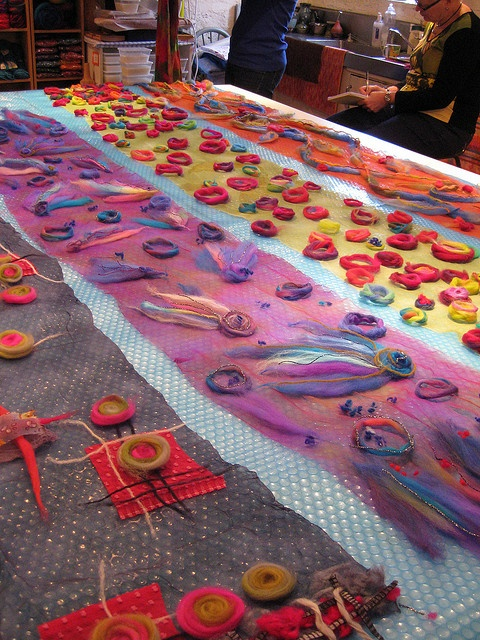 Scarf Class by studiofelter, via Flickr. These look amazing