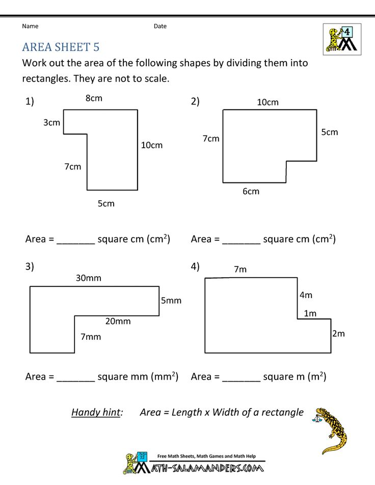 6th Grade Math Worksheets With Answer Key in 2020 | Math ...