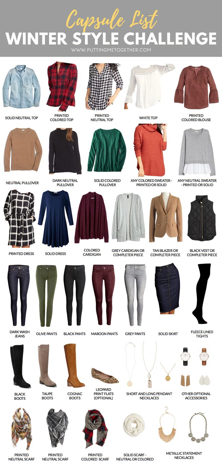 Winter Capsule Wardrobe For 2017 And 2018: Best 25+ Fall Winter Ideas On Pinterest