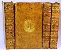 GEDOYN Quintilien de l'institution de l'Orateur 1752 Reliure aux armes Toulouse