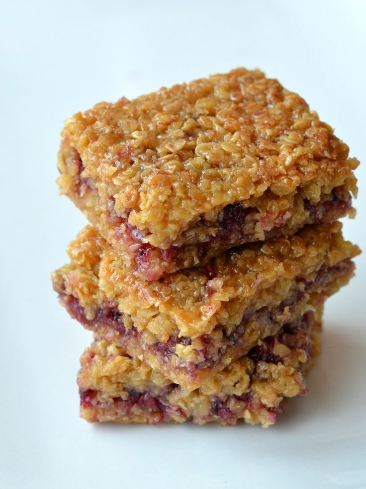 The Crazy Kitchen: Juicy and Sticky Blackcurrant Flapjacks