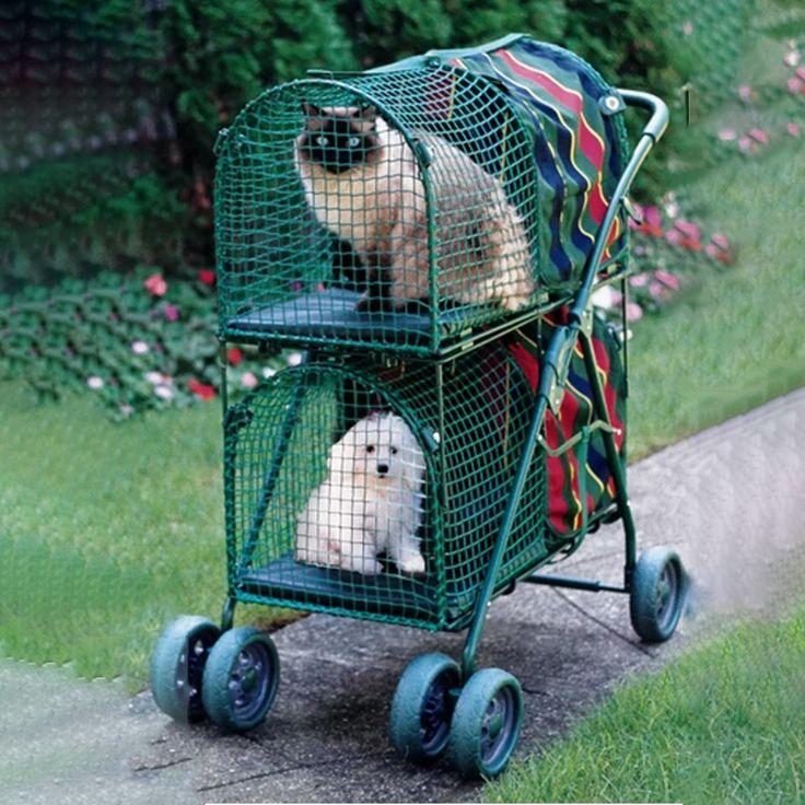 Double Decker Standard Pet Stroller Ubest Store 100. in