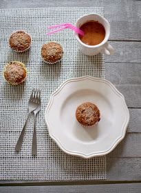 the kosher spoon : Healthy Breakfast Bran Muffins with Cinnamon Crumble Topping
