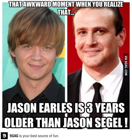 sorcery, i tell you... Jason Earles jason segel