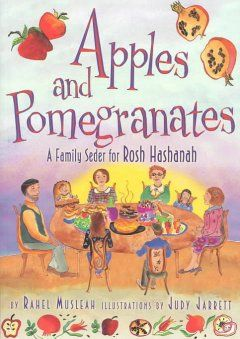 73 best rosh hashana images on pinterest israel jewish art and apples and pomegranates a family seder for rosh hashanah rahel musleah illustrations by fandeluxe Images