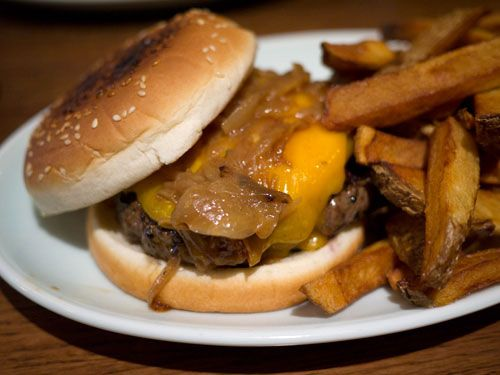 Dry Aged Burgers for a Good Price at the Brindle Room in the East Village