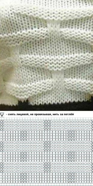 Pretty knitting pattern