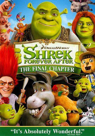 Dreamworks Shrek Forever After The Final Chapter (DVD, 2010)