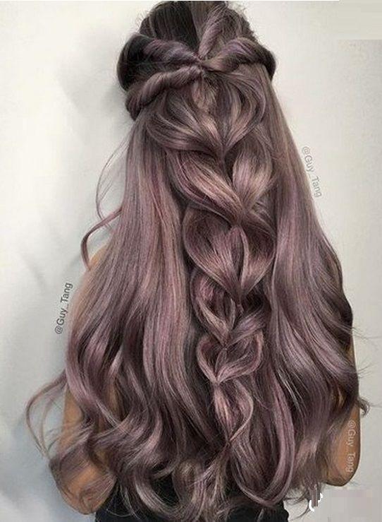 Шикарные прически на длинные волосы укладки 2017 | FOTOMIR24.RU