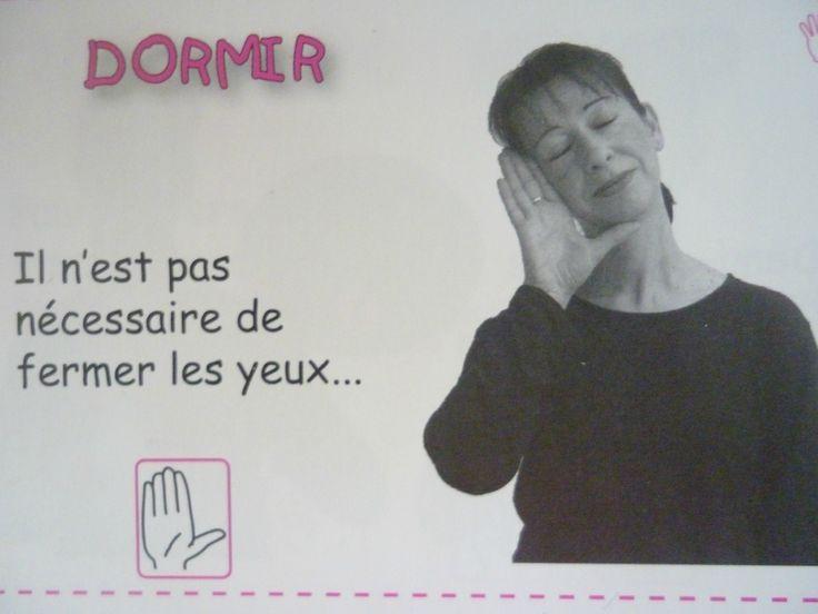 La langue des signes pour les bébés - Dormir