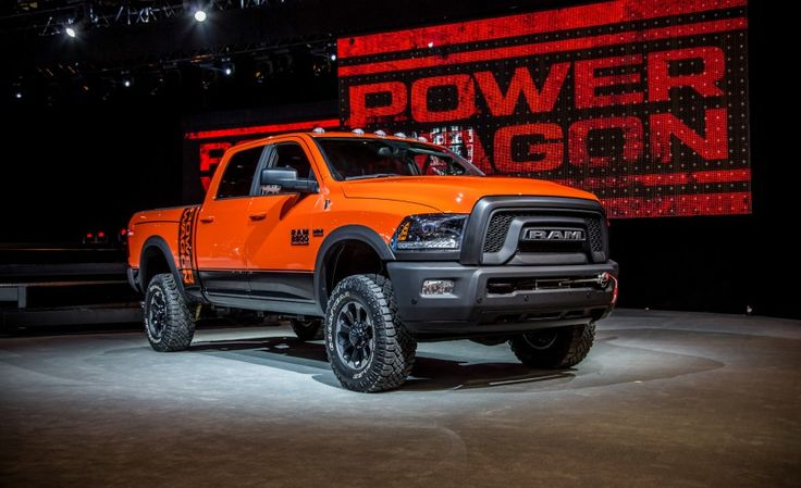 Dodge Unveils the 2017 Ram Power Wagon