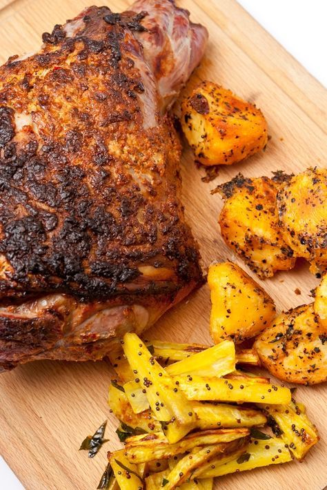 Anna Hansen's roast leg of lamb recipe is one of her and our favourites, it makes a great Sunday lunch and should be tried by all lovers of lamb