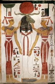 La mummia del dio solare; ca 1250 a.C, Nuovo Regno; Tempera su muro; Tebe Ovest, Valle delle Regine (Tomba di Nefertari)
