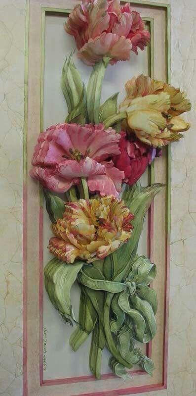 Resultado de imagen para 3d arte frances flores