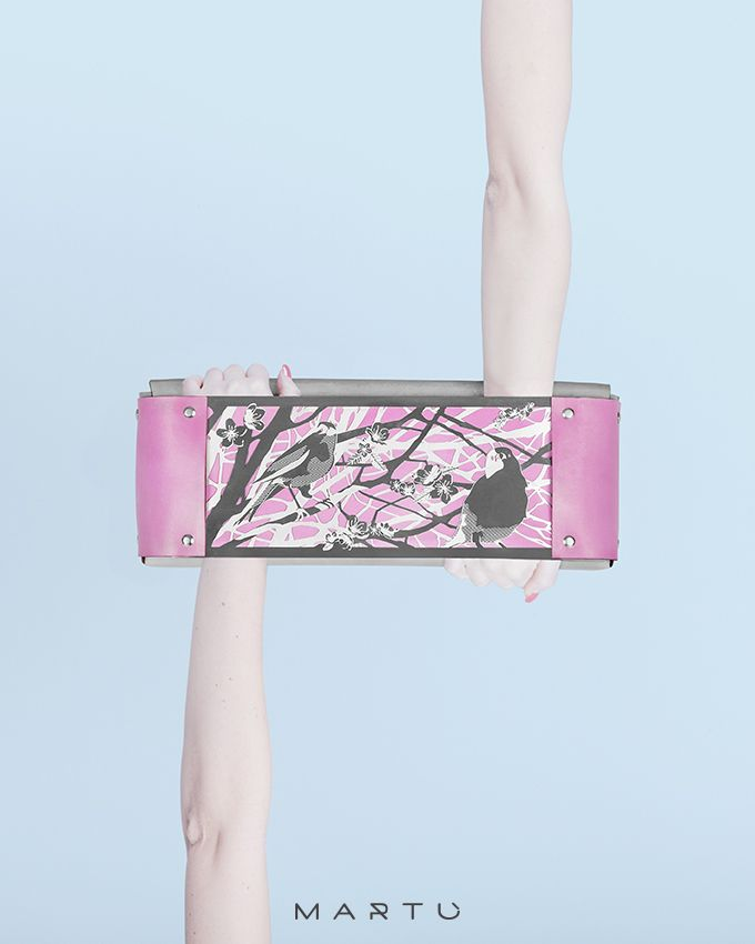 MARTU' Birda collection - Clutch bag