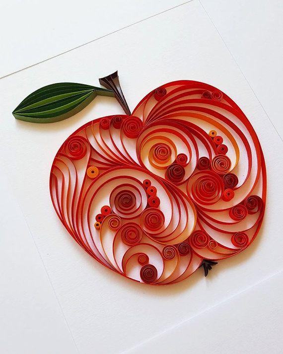 Apple Card Teacher Card Card for Teacher Big Apple Card