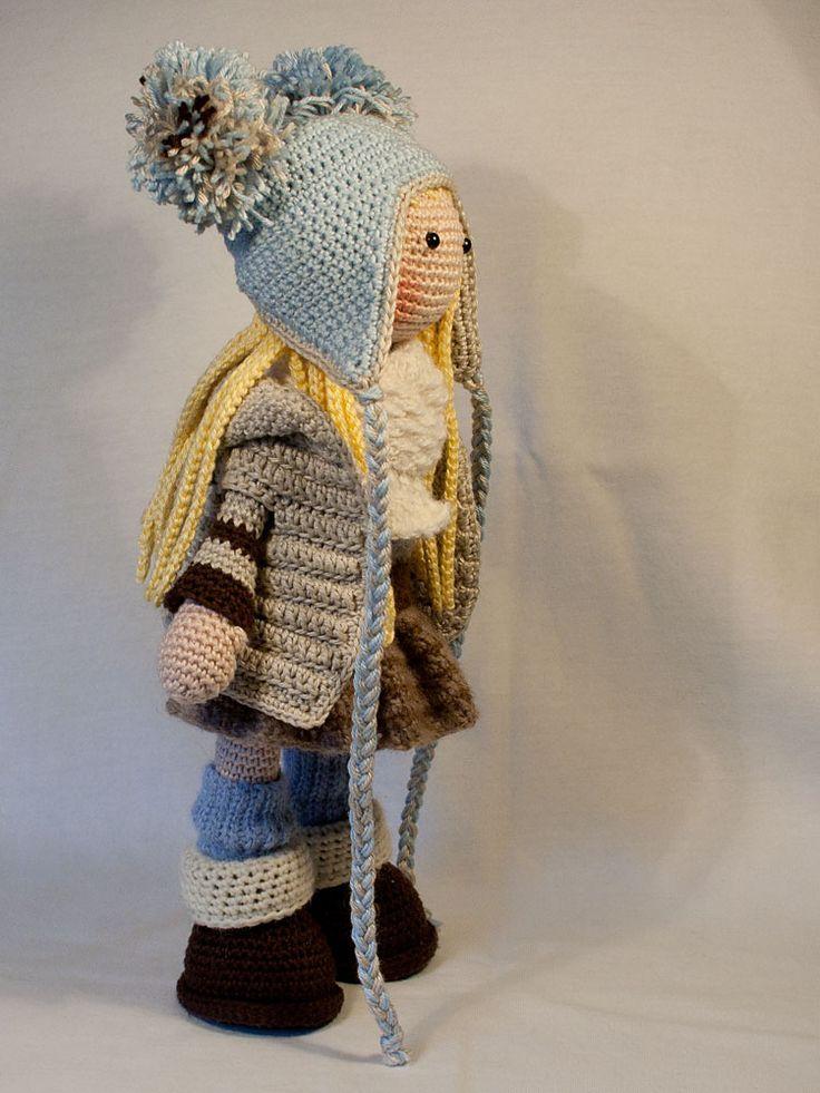 Mejores 45 imágenes de Poupées en crochet en Pinterest | Muñecos de ...