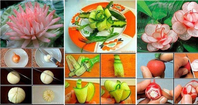 10 nagyszerű ötlet arra, hogyan készítsünk fantasztikus dekorációt zöldségekből