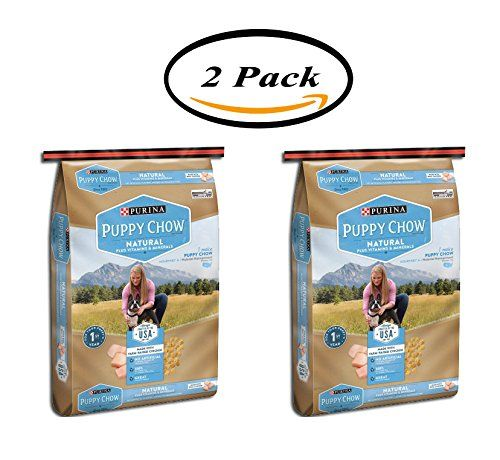PACK OF 2  Purina Puppy Chow Natural Plus Vitamins and Minerals Dog Food 30 lb. Bag >>> Be sure to check out this awesome product. (This is an affiliate link) #DogFoods
