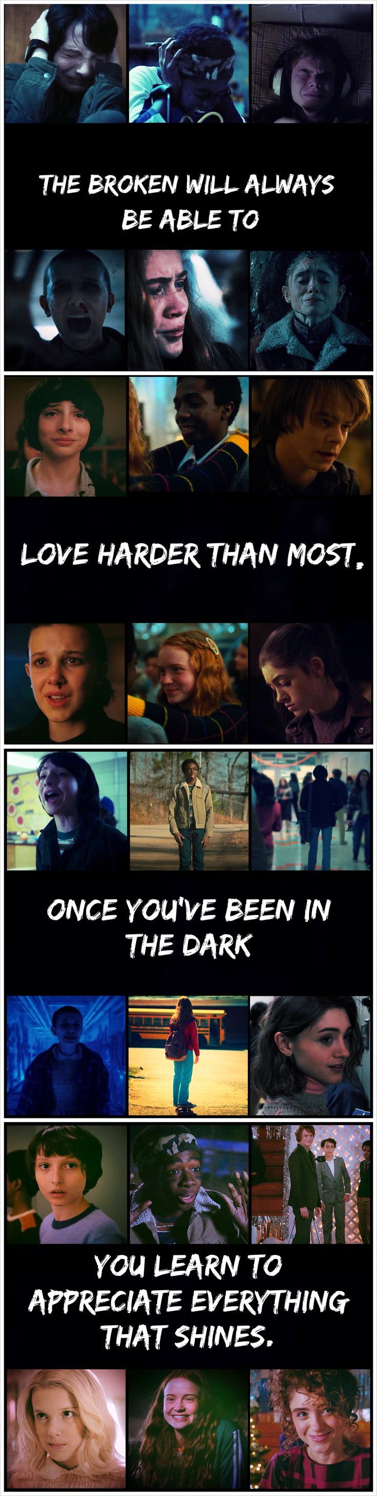 I made this because of my love for stranger things and all of the amazing ships that make the show that much more magical for me.