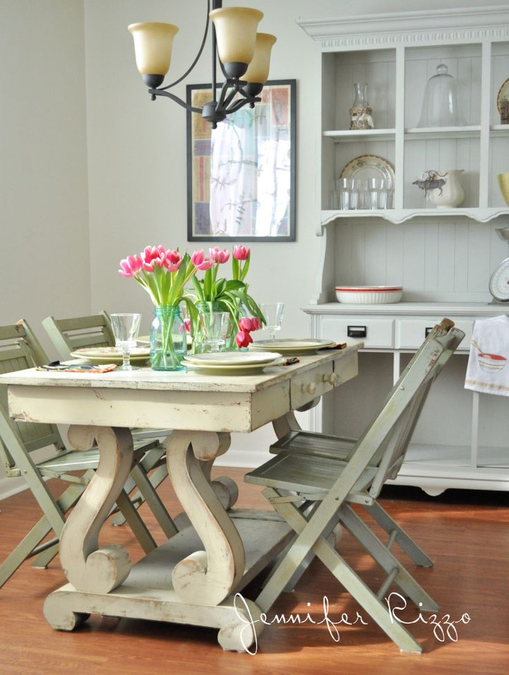 Loveliest Cottage Kitchen ! By Jen Rzzo who creates so much Beauty with all her DIY Designs !