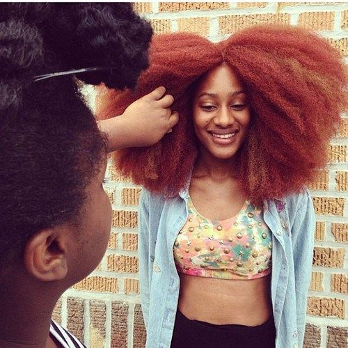 Red Natural Hair Type 4