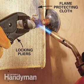 Pic On How to Replace a Shutoff Valve