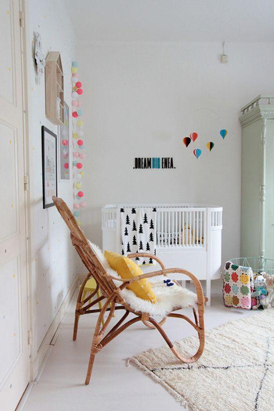 nursery baby room deco cool kids room nursery eclectic bright nursery